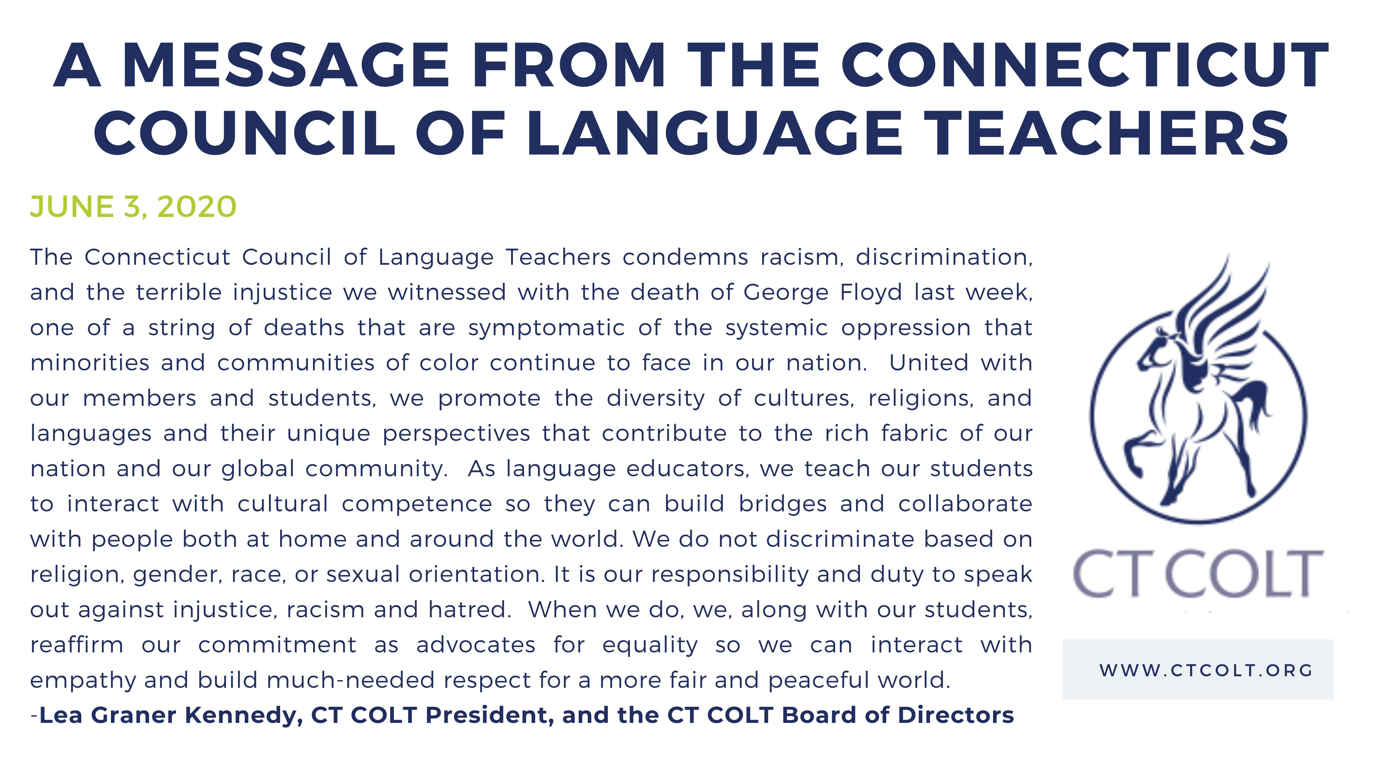 CT COLT Message