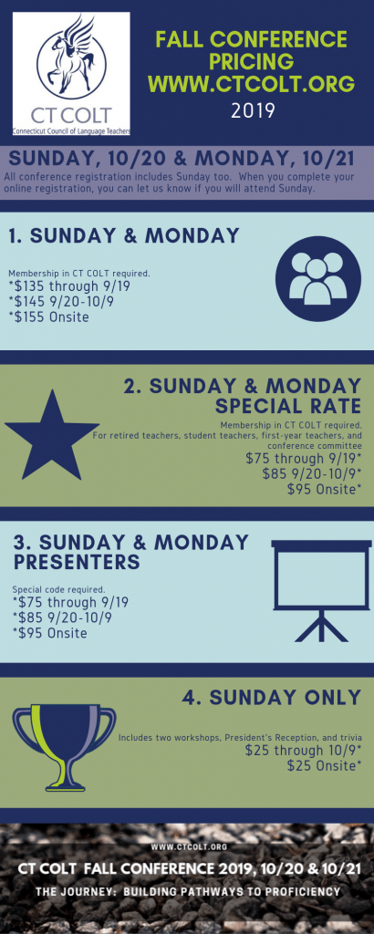 Fall Conference Pricing